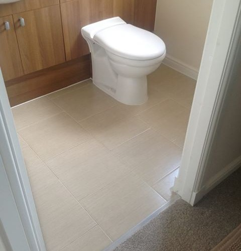 En-Suite Tiling and Underfloor Heating