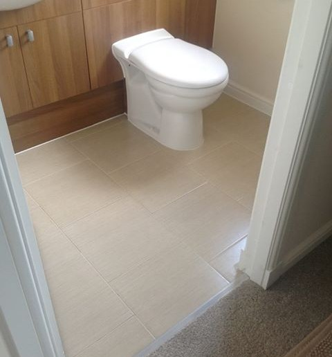 En-Suite Tiling and Underfloor Heating